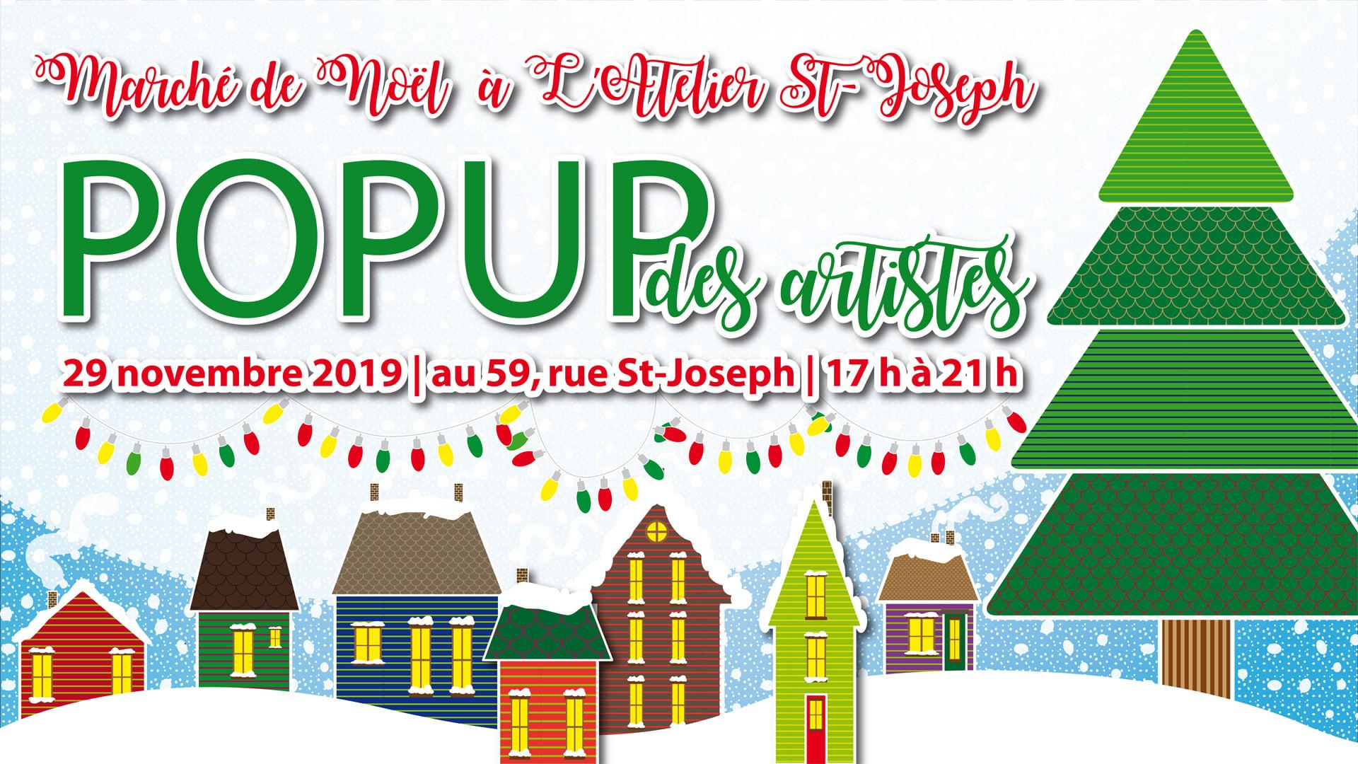 Marché de Noël pop-up à Brompton !