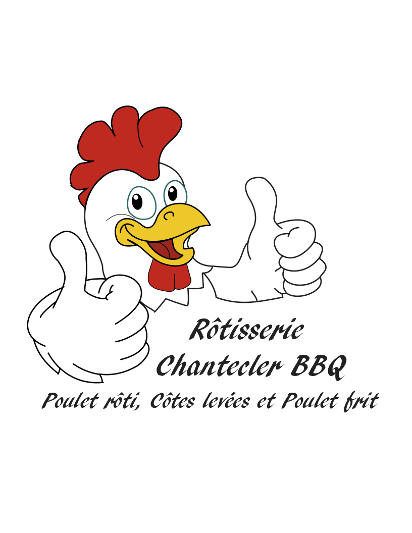 Chantecler BBQ Logo Menu